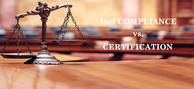 ISO Compliance vs. Certification